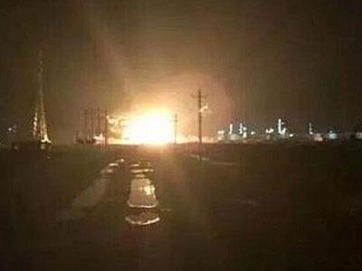 Trung Quốc lại chấn động vì vụ nổ khu công nghiệp hóa chất