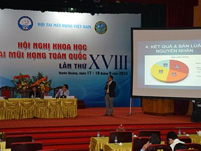 Hội nghị khoa học Tai Mũi Họng toàn quốc lần XVIII tại Tuyên  Quang