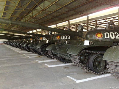 SIPRI gây bất ngờ lớn khi cho biết số lượng T-62 và BMP-2 của Việt Nam