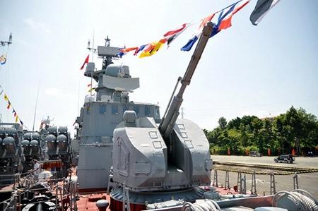 Tàu tên lửa Molniya Việt Nam được trang bị pháo hạm tiên tiến nhất