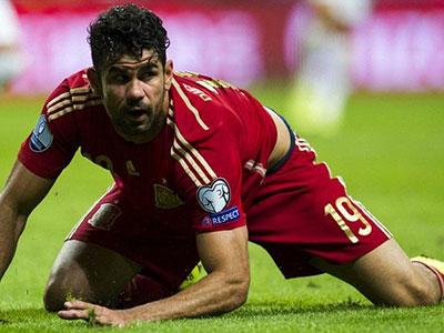 Diego Costa bị CĐV Tây Ban Nha loại khỏi đội tuyển dự EURO 2016