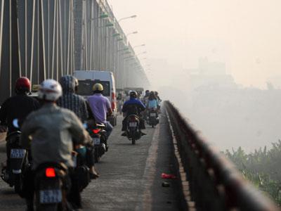 Hà Nội xuất hiện sương mù