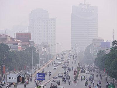Hà Nội, Sài Gòn cùng chìm trong sương mù