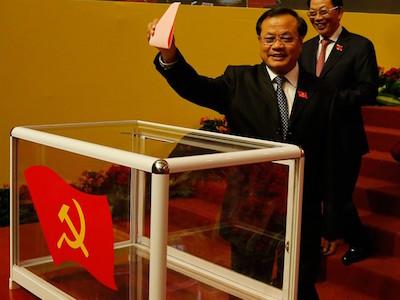 Hà Nội bầu khuyết vị trí Bí thư Thành ủy