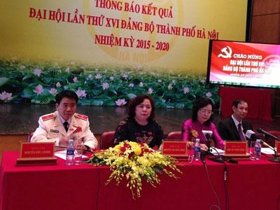 Chân dung 4 Phó bí thư Thành ủy Hà Nội