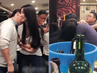 Loạt người đẹp Hong Kong lộ ảnh thác loạn cùng các thiếu gia