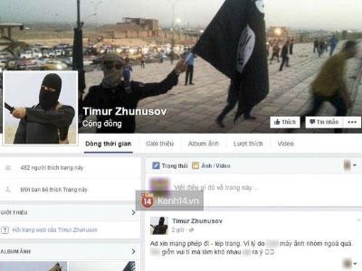 Chính là người Việt đã tạo ra trang Facebook giả thành viên IS đang gây phẫn nộ