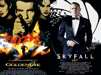 10 tập phim James Bond được yêu thích nhất