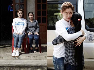 Mẹ của Kim Tan (The Heirs) trào nước mắt khi gặp lại con nuôi người Việt Nam