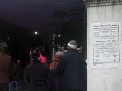 Hà Nam: Chồng siết cổ vợ đến chết bằng chiếc cà vạt