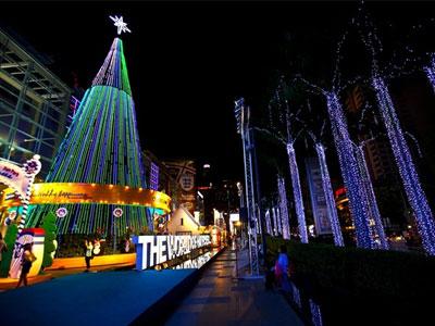 Những thành phố rộn ràng không khí Giáng sinh nhất châu Á