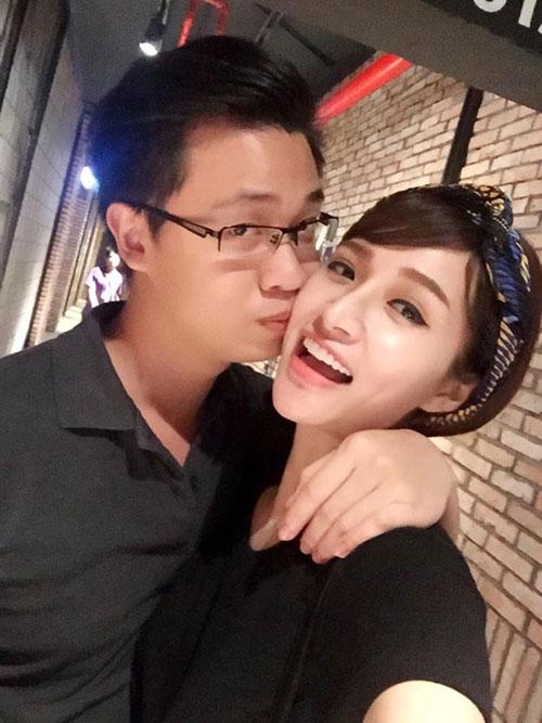 Hot girl Vân Navy lần đầu khoe ảnh hạnh phúc cùng bạn trai - 1
