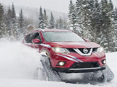 Nissan ra mắt SUV có khả năng vượt tuyết