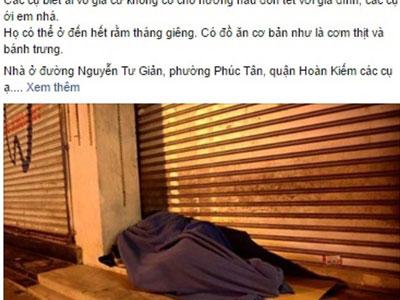 Ấm lòng người phụ nữ dành trọn căn nhà 2 tầng giữa phố Hà Nội cho người vô gia cư ở đón Tết