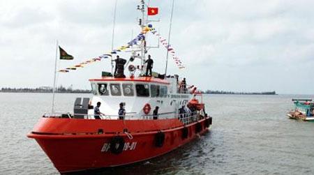 Tàu tuần tra Việt Nam vừa nhận có gì đặc biệt?