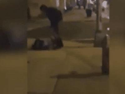 Clip: Phẫn nộ thanh niên đánh đập dã man bạn gái đang mang thai ngay giữa phố