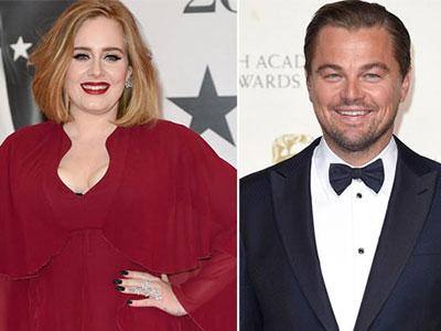 Adele chúc Leonardo DiCaprio giành tượng vàng Oscar