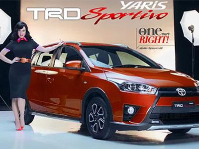 Toyota Yaris TRD Sportivo 2016 giá 16.800 USD