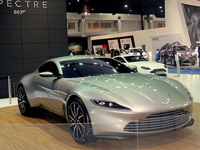 Siêu xe của James Bond xuất hiện tại Bangkok Motor Show