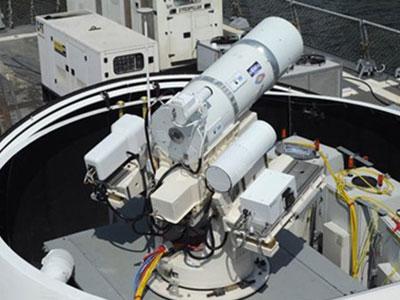 Siêu tàu sân bay 13 tỷ USD của Mỹ trang bị pháo laser