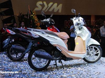 """SYM Shark Mini có gì để """"đấu"""" Honda Vision tại VN?"""