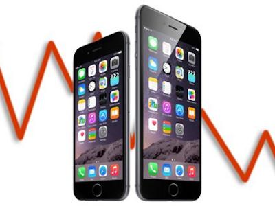Doanh số iPhone vẫn giảm dù iPhone 7 xuất hiện