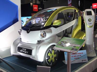 Ôtô điện 2 chỗ ngồi của SYM ra mắt tại Việt Nam