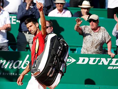 Djokovic bị loại ngay vòng hai Monte Carlo