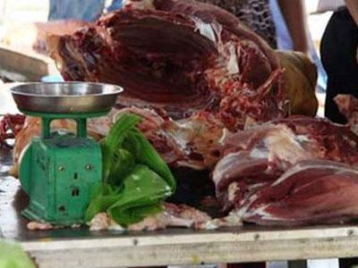 Thịt bò giả tràn lan Hà Nội: