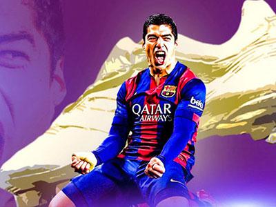 Ronaldo vs Suarez: Cuộc chiến vì danh hiệu giày vàng châu Âu