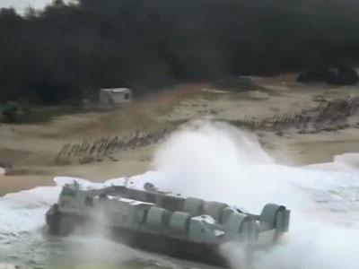 Trung Quốc tập trận đổ bộ đảo trên Biển Đông