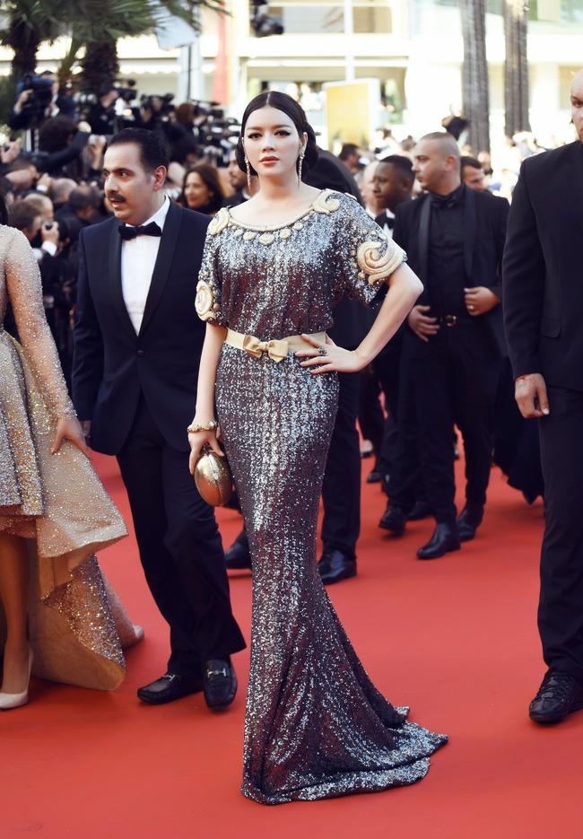 Ai cũng phải trầm trồ trước vẻ kiêu sa khó cưỡng của Lý Nhã Kỳ trên thảm đỏ LHP Cannes - Ảnh 9.