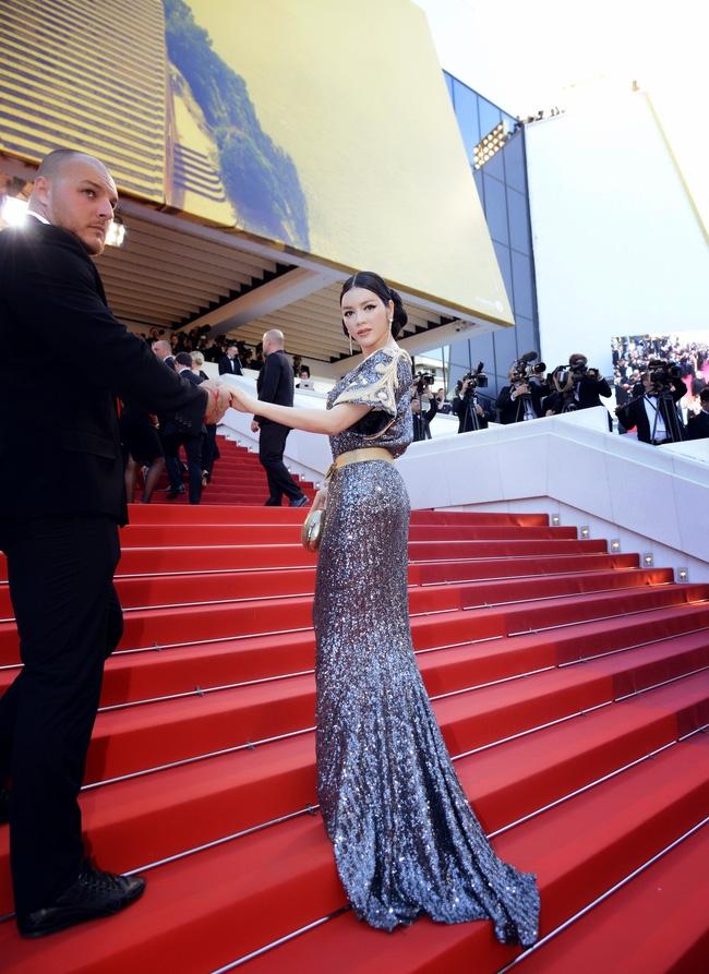 Ai cũng phải trầm trồ trước vẻ kiêu sa khó cưỡng của Lý Nhã Kỳ trên thảm đỏ LHP Cannes - Ảnh 10.