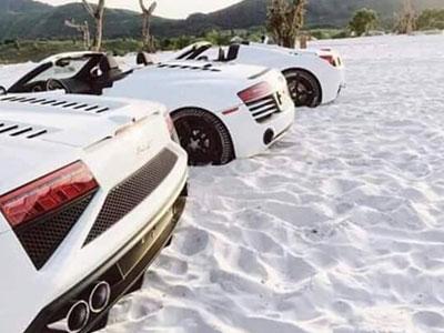 Thú chơi siêu xe màu trắng muốt của ông chủ cà phê Trung Nguyên