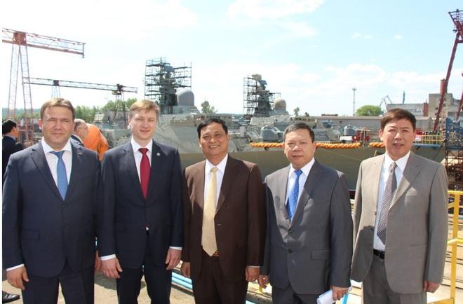 [ẢNH] Nga hạ thủy tàu Gepard thứ 4 cho Việt Nam - Ảnh 4.
