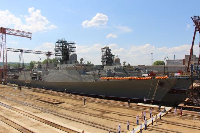 [ẢNH] Nga hạ thủy tàu Gepard thứ 4 cho Việt Nam - Ảnh 5.