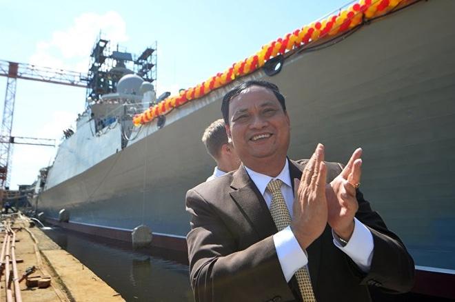 [ẢNH] Nga hạ thủy tàu Gepard thứ 4 cho Việt Nam - Ảnh 8.