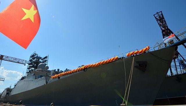 [ẢNH] Nga hạ thủy tàu Gepard thứ 4 cho Việt Nam - Ảnh 10.