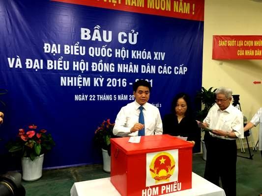 Ông Nguyễn Đức Chung trúng cử HĐND với số phiếu cao nhất HN - 1