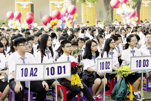 Kỳ tuyển sinh vào lớp 10 công lập ở Hà Nội năm nay, được dự báo sẽ rất căng thẳng. Ảnh: Q.Anh