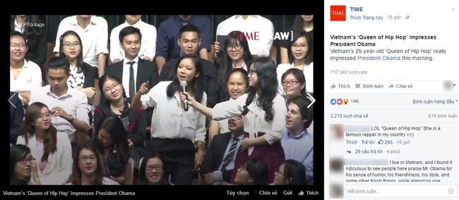 Clip: Suboi trả lời phỏng vấn trực tiếp với CNN về việc rap tiếng Việt cho Tổng thống Obama - Ảnh 4.