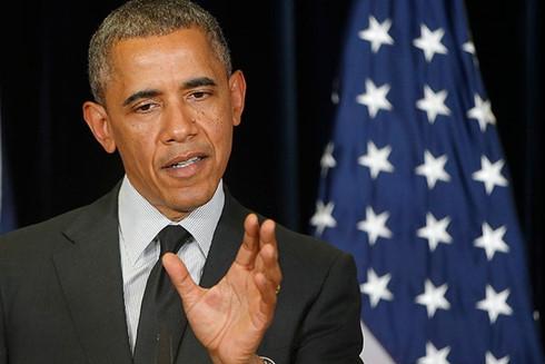 tong thong obama noi gi ve bien dong ngay truoc g7? hinh 0