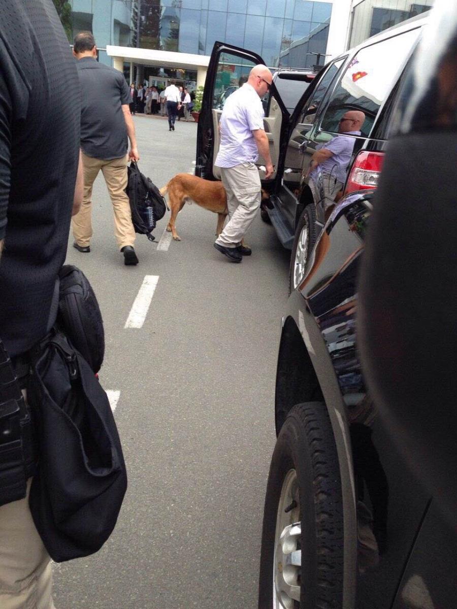 Chó nghiệp vụ, những 'sĩ quan' đặc biệt bảo vệ Tổng thống Obama tại Việt Nam - ảnh 2