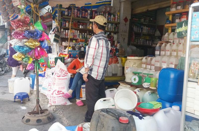chợ hóa chất kim biên, quận 6, bất lực, cà phê, nước ngọt