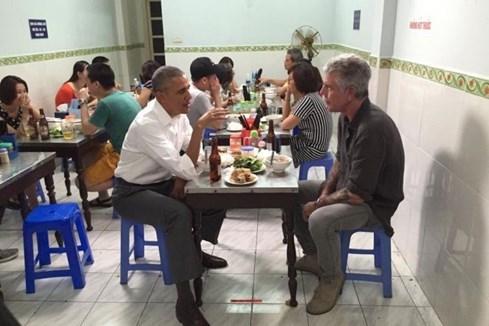 Dân mạng Trung Quốc tranh luận về suất bún chả của Tổng thống Obama - ảnh 2