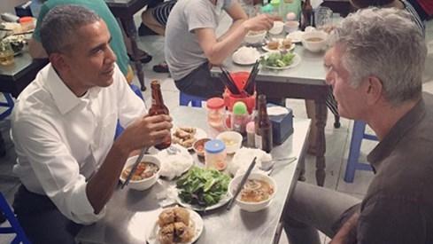 Dân mạng Trung Quốc tranh luận về suất bún chả của Tổng thống Obama - ảnh 3