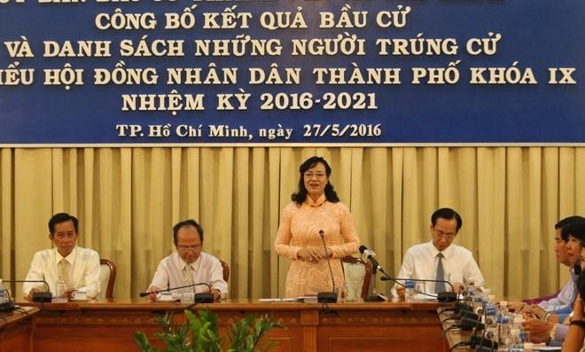Dien vien Binh Minh khong trung cu dai bieu HDND TP HCM hinh anh 1