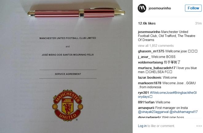 Mourinho ra mat Old Trafford: 'Dan dat MU la mot dac an' hinh anh 3