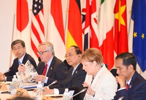 Thủ tướng Nguyễn Xuân Phúc: Hoan nghênh G7 ủng hộ Tuyên bố Biển Đông - Ảnh 1