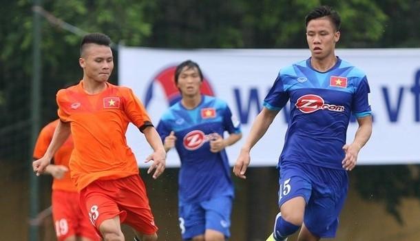U19 Việt Nam sẽ có thêm cơ hội trau dồi, tích lũy kinh nghiệm khi chạm trán với các đàn anh ở tuyển Việt Nam.